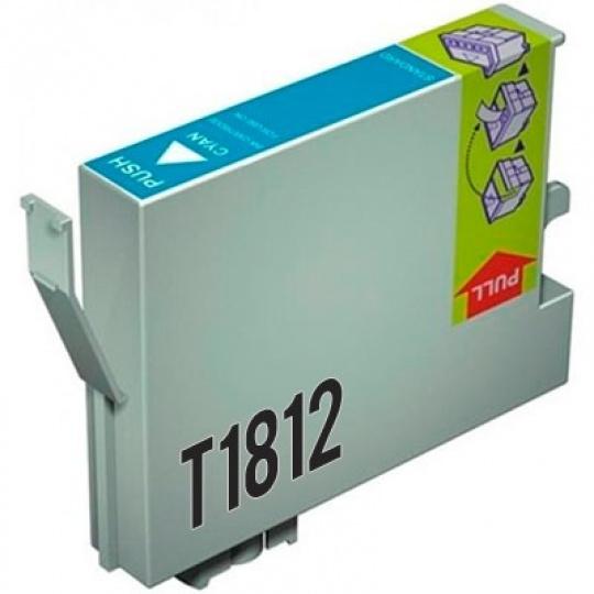 Epson T1812, azurová 18XL - kompatibilní inkoustová kazeta