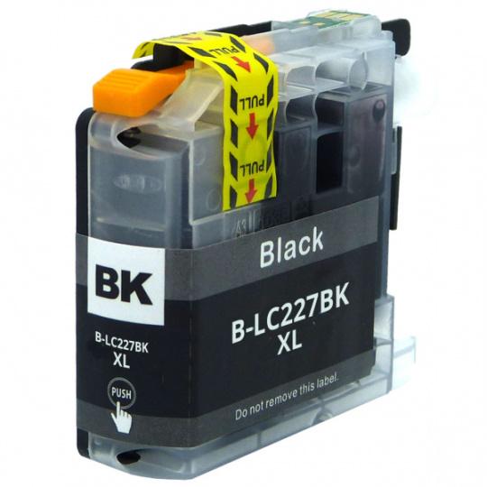 Brother LC-227Bk XL, černá - kompatibilní inkoustová kazeta