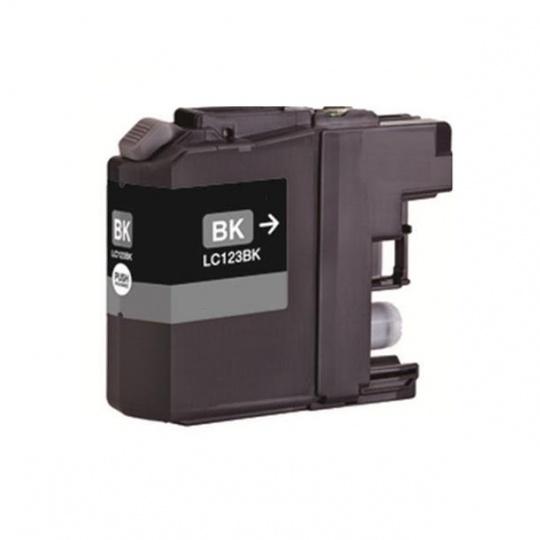 Brother LC-123Bk, černá - kompatibilní inkoustová kazeta