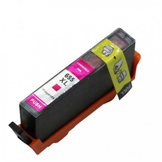 HP CZ111AE, purpurová (HP 655) - kompatibilní inkoustová kazeta