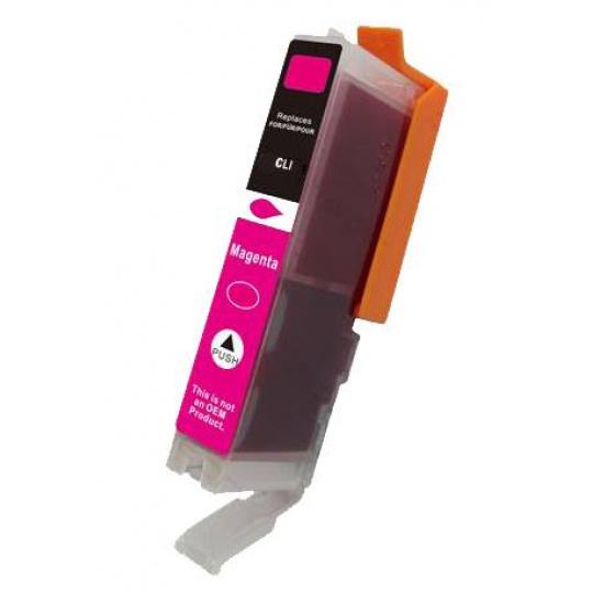 Canon CLI-521M, purpurová - kompatibilní  inkoustová kazeta