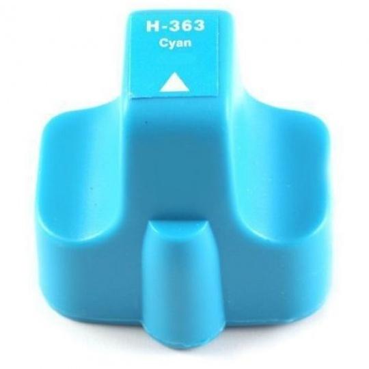 HP 363 XL, cyan - kompatibilní  inkoustová kazeta