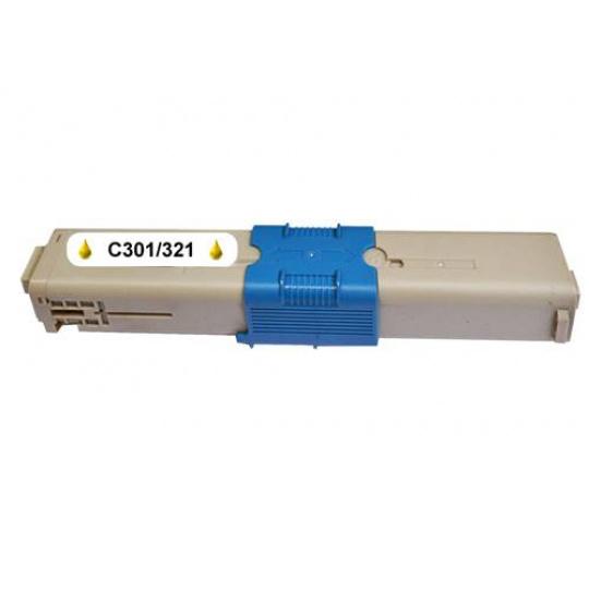OKI C301/C321/MC332/MC342, kompatibilní toner - 1500 stran