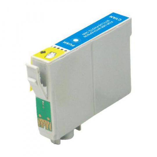 Epson T1632, azurová 16XL - kompatibilní inkoustová kazeta