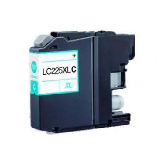 Brother LC-225C XL, cyan - kompatibilní inkoustová kazeta