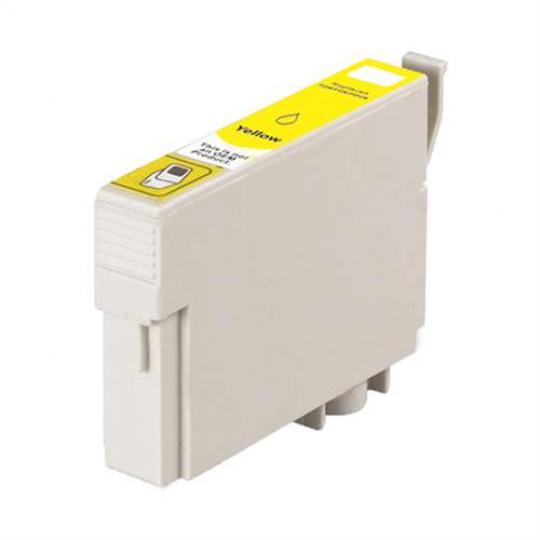 Epson T0714, žlutá - kompatibilní inkoustová kazeta