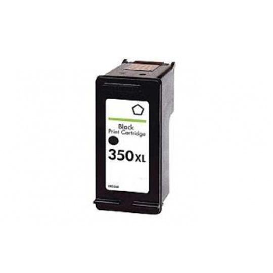 HP 350XL, černá - kompatibilní inkoustová kazeta
