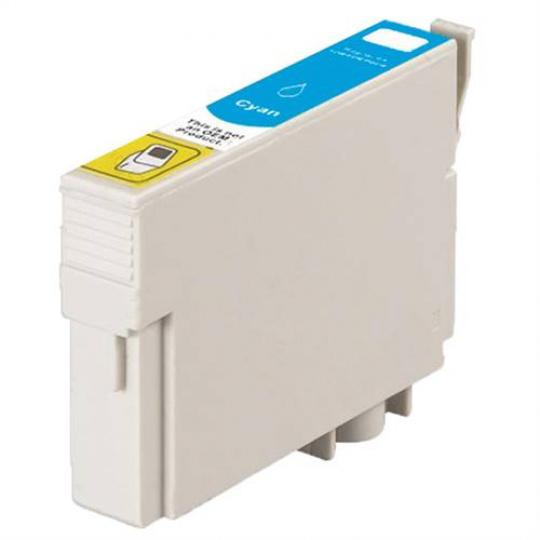 Epson T0712, azurová - kompatibilní inkoustová kazeta