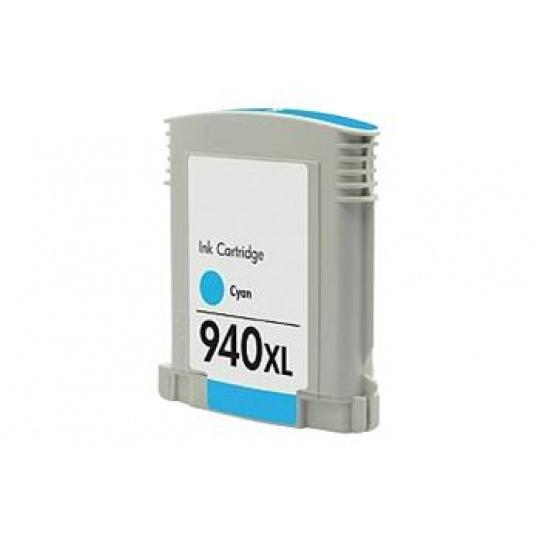 HP 940XL azurová - kompatibilní inkoustová kazeta