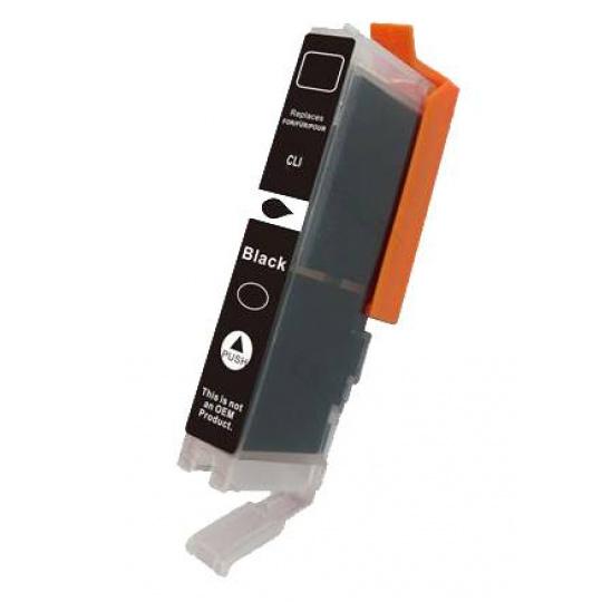 Canon CLI-521Bk, černá - kompatibilní inkoustová kazeta