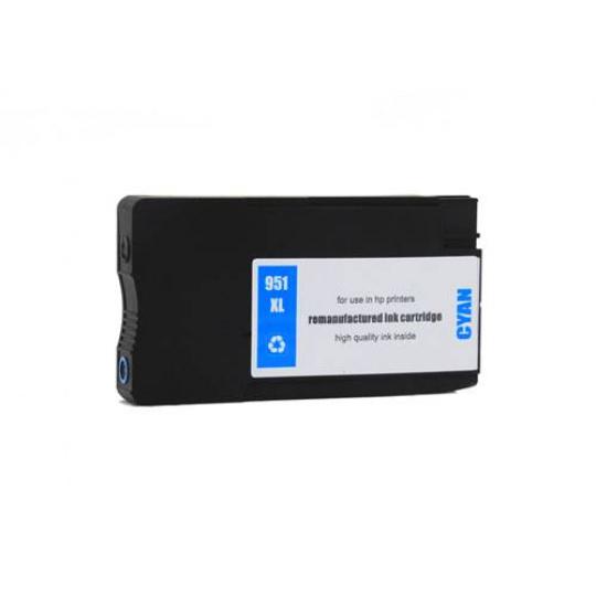 HP 951 XL - cyan  , kompatibilní inkoustová kazeta