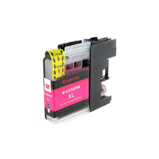 Brother LC-525XL - magenta ,  kompatibilní inkoustová kazeta