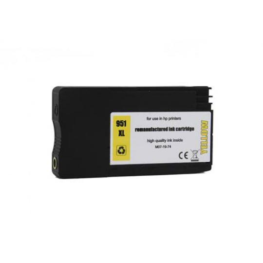 HP 951 XL - žlutá , kompatibilní inkoustová kazeta