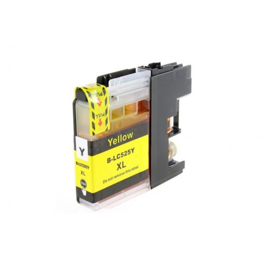 Brother LC-525XL- yellow, kompatibilní inkoustová kazeta