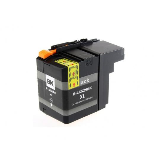 Brother LC-529XL black - kompatibilní inkoustová kazeta