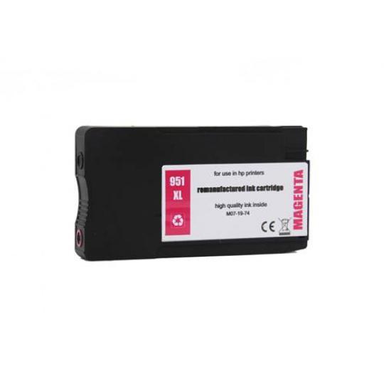 HP 951 XL - purpurová , kompatibilní inkoustová kazeta
