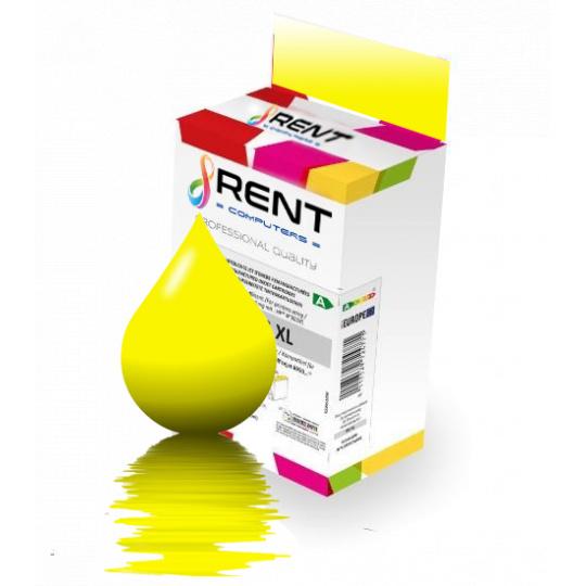 Epson T0484, žlutá - kompatibilní inkoustová kazeta